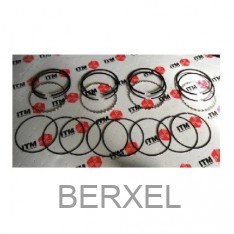 A14/A15 piston ring set +0,5 mm