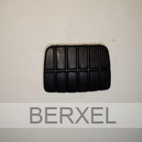 Brake and clutch pedal rubber